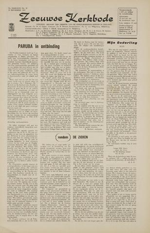 Zeeuwsche kerkbode, weekblad gewijd aan de belangen der gereformeerde kerken/ Zeeuwsch kerkblad 1965-11-19