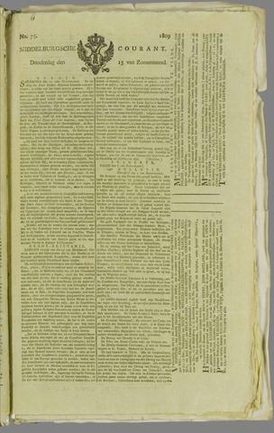 Middelburgsche Courant 1809-06-15