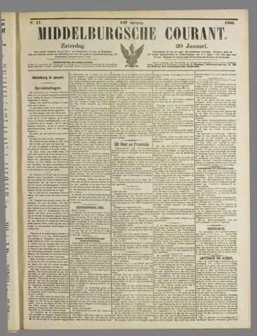 Middelburgsche Courant 1906-01-20