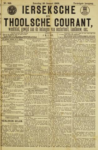 Ierseksche en Thoolsche Courant 1903-01-10