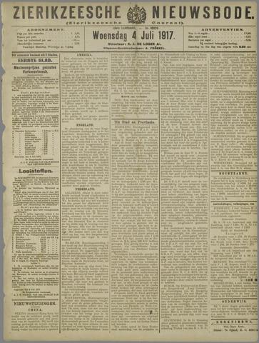 Zierikzeesche Nieuwsbode 1917-07-04