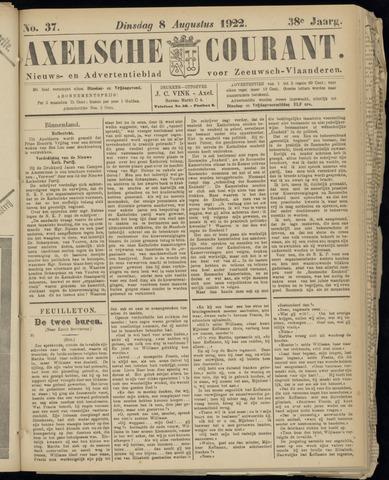Axelsche Courant 1922-08-08