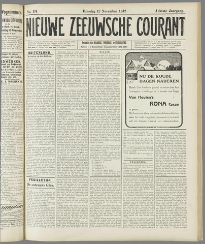 Nieuwe Zeeuwsche Courant 1912-11-12