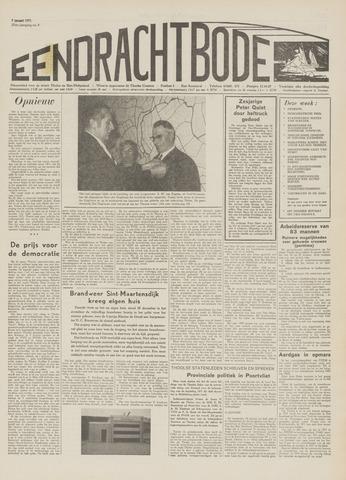 Eendrachtbode (1945-heden)/Mededeelingenblad voor het eiland Tholen (1944/45) 1971