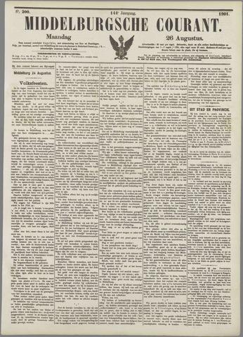 Middelburgsche Courant 1901-08-26