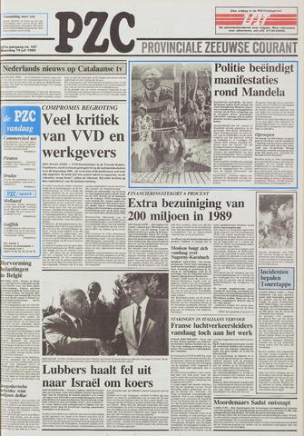 Provinciale Zeeuwse Courant 1988-07-18