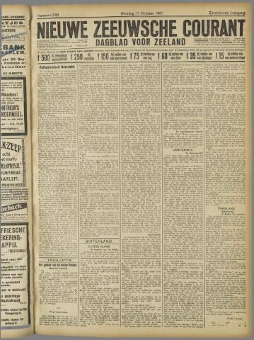 Nieuwe Zeeuwsche Courant 1921-10-11