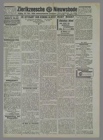 Zierikzeesche Nieuwsbode 1934-02-23