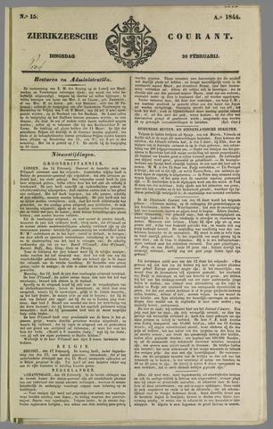 Zierikzeesche Courant 1844-02-20