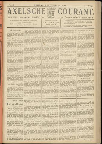 Axelsche Courant 1938-09-02