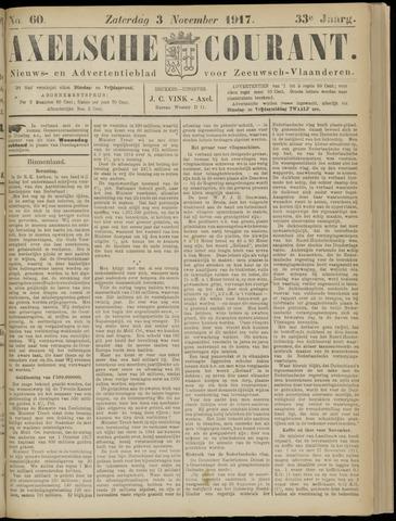Axelsche Courant 1917-11-03