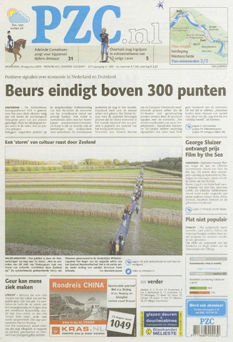 Provinciale Zeeuwse Courant 2009-08-26