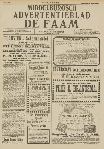 de Faam en de Faam/de Vlissinger 1915-05-05