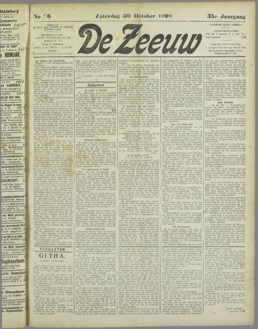 De Zeeuw. Christelijk-historisch nieuwsblad voor Zeeland 1920-10-30