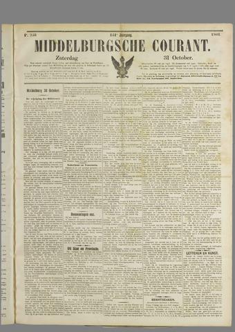Middelburgsche Courant 1908-10-31