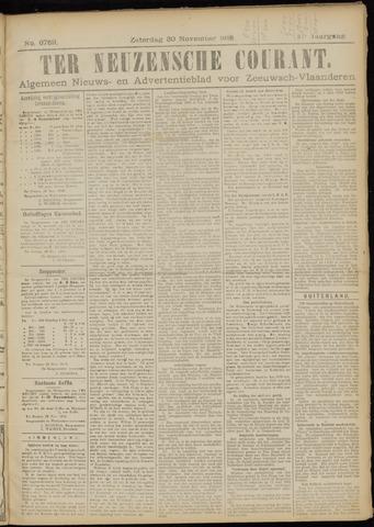 Ter Neuzensche Courant. Algemeen Nieuws- en Advertentieblad voor Zeeuwsch-Vlaanderen / Neuzensche Courant ... (idem) / (Algemeen) nieuws en advertentieblad voor Zeeuwsch-Vlaanderen 1918-11-30