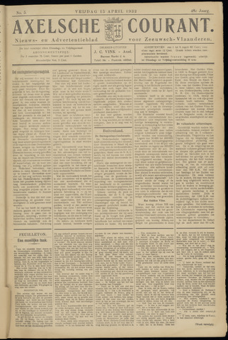Axelsche Courant 1932-04-15