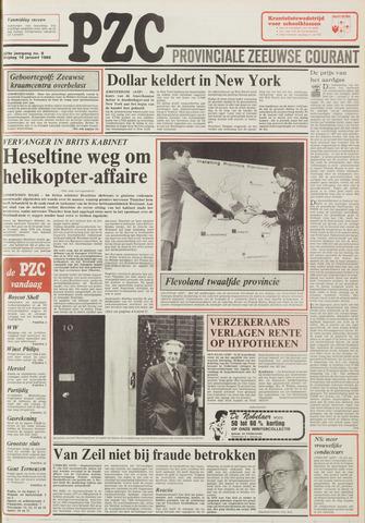 Provinciale Zeeuwse Courant 1986-01-10