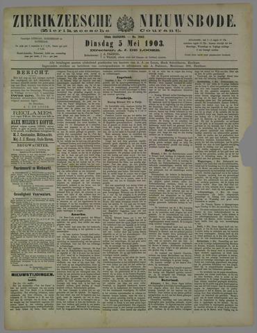 Zierikzeesche Nieuwsbode 1903-05-05