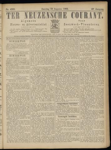 Ter Neuzensche Courant. Algemeen Nieuws- en Advertentieblad voor Zeeuwsch-Vlaanderen / Neuzensche Courant ... (idem) / (Algemeen) nieuws en advertentieblad voor Zeeuwsch-Vlaanderen 1902-08-23