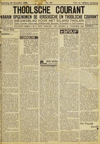Ierseksche en Thoolsche Courant 1936-12-31