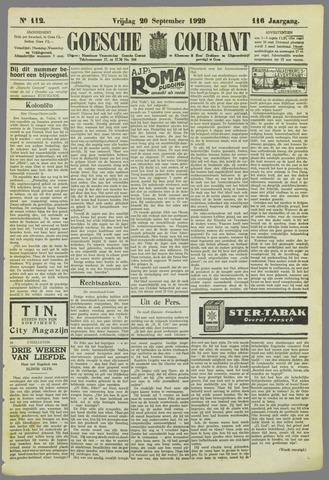 Goessche Courant 1929-09-20