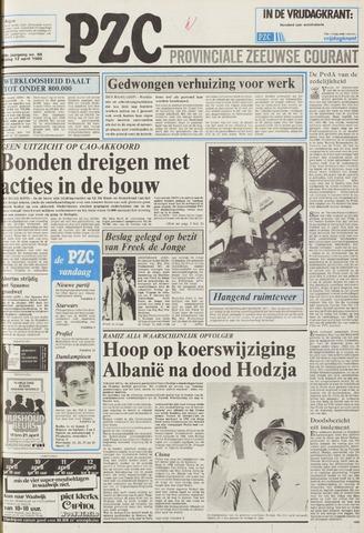 Provinciale Zeeuwse Courant 1985-04-12