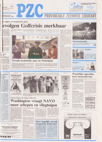 Provinciale Zeeuwse Courant 1990-09-08