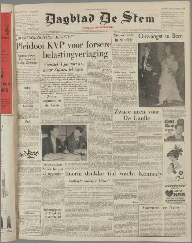 de Stem 1960-11-11