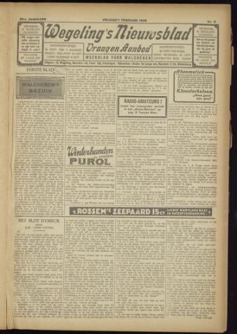 Zeeuwsch Nieuwsblad/Wegeling's Nieuwsblad 1929-02-01