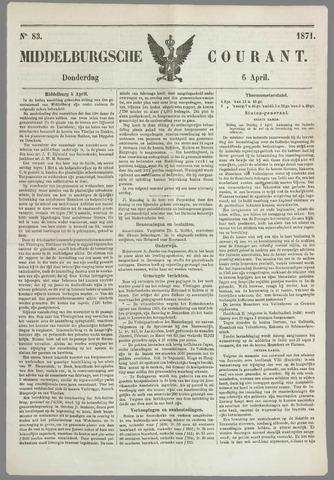 Middelburgsche Courant 1871-04-06