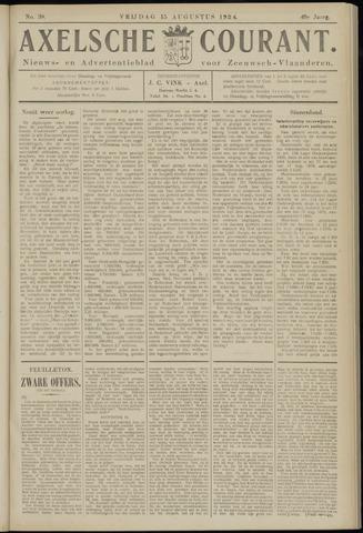 Axelsche Courant 1924-08-15