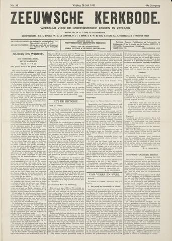 Zeeuwsche kerkbode, weekblad gewijd aan de belangen der gereformeerde kerken/ Zeeuwsch kerkblad 1935-07-26