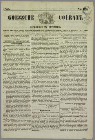 Goessche Courant 1853-12-22