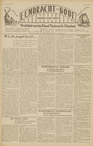 Eendrachtbode (1945-heden)/Mededeelingenblad voor het eiland Tholen (1944/45) 1948