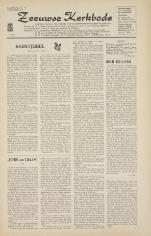 Zeeuwsche kerkbode, weekblad gewijd aan de belangen der gereformeerde kerken/ Zeeuwsch kerkblad 1966-12-09
