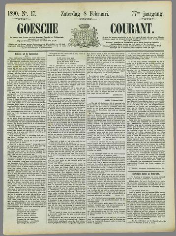 Goessche Courant 1890-02-08