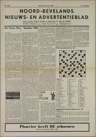 Noord-Bevelands Nieuws- en advertentieblad 1968