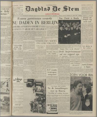 de Stem 1961-08-21