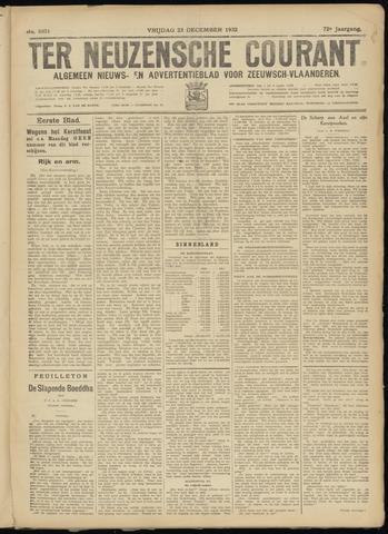 Ter Neuzensche Courant. Algemeen Nieuws- en Advertentieblad voor Zeeuwsch-Vlaanderen / Neuzensche Courant ... (idem) / (Algemeen) nieuws en advertentieblad voor Zeeuwsch-Vlaanderen 1932-12-23