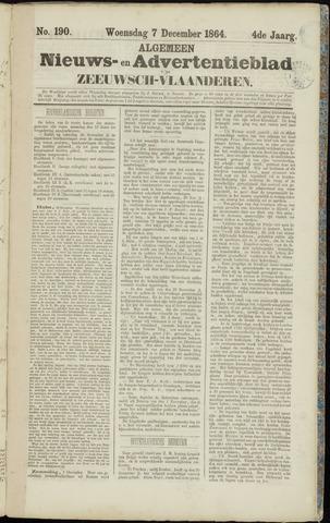 Ter Neuzensche Courant. Algemeen Nieuws- en Advertentieblad voor Zeeuwsch-Vlaanderen / Neuzensche Courant ... (idem) / (Algemeen) nieuws en advertentieblad voor Zeeuwsch-Vlaanderen 1864-12-07