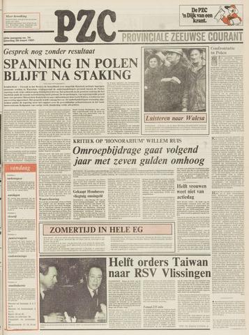 Provinciale Zeeuwse Courant 1981-03-28