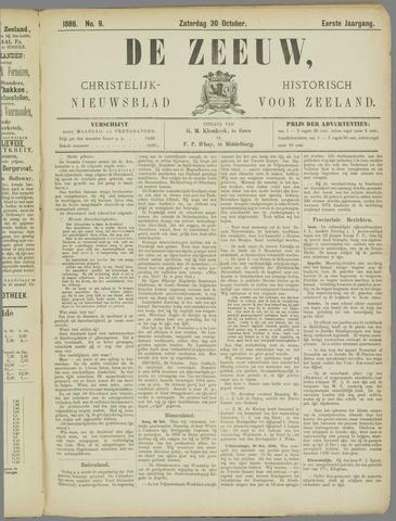 De Zeeuw. Christelijk-historisch nieuwsblad voor Zeeland 1886-10-30