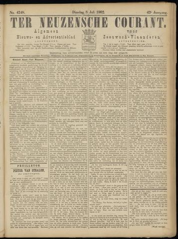Ter Neuzensche Courant. Algemeen Nieuws- en Advertentieblad voor Zeeuwsch-Vlaanderen / Neuzensche Courant ... (idem) / (Algemeen) nieuws en advertentieblad voor Zeeuwsch-Vlaanderen 1902-07-08