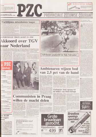Provinciale Zeeuwse Courant 1989-11-22