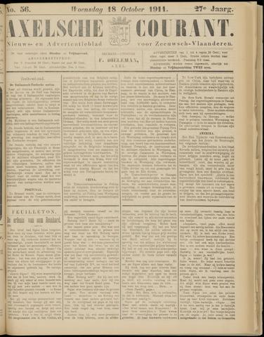 Axelsche Courant 1911-10-18