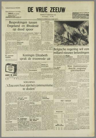 de Vrije Zeeuw 1965-11-10