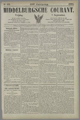 Middelburgsche Courant 1883-09-07