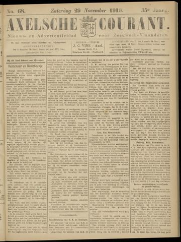 Axelsche Courant 1919-11-29