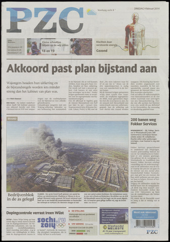 Provinciale Zeeuwse Courant 2014-02-04
